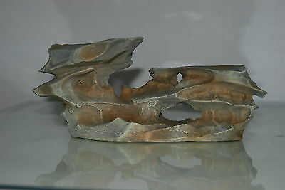 Aquarium Wind Swept Rock Ornament  23 x 12 x 9 cms 2