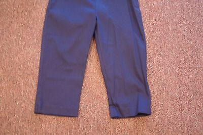 Guess navy blue cotton blend capris inseam 16 juniors size 3 3