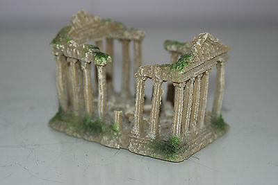 Small Old Roman Temple Greek Ruin Columns Decoration 9.5 x 6 x 6.5 cms 3