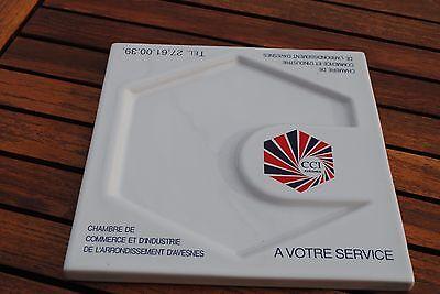 Vide-Poches/ Ramasse-Monnaie En Ceramique Desvres - Tres Joli Comme Neuf !!!!