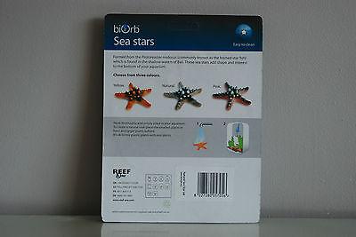 Aquarium Marine Coloured Starfish Orb Decoration Natural 3 Pack All Aquariums 3