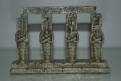 Detailed Aquarium Egyptian Pharaoh Column 17.5 x 4.5 x 14 cms For All Aquariums 3 • EUR 9,26