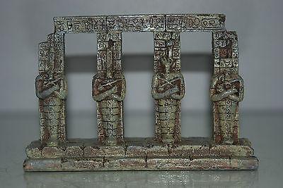Detailed Aquarium Egyptian Pharaoh Column 17.5 x 4.5 x 14 cms For All Aquariums 3