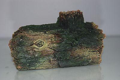Aquarium Detailed Ornamental Hollow Log Suitable for All  Aquariums 16x11x10cms 3