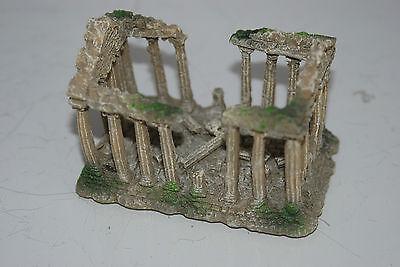 Small Old Roman Temple Greek Ruin Columns Decoration 9.5 x 6 x 6.5 cms 7 • EUR 6,55
