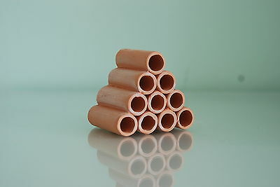 Aquarium Ceramic Breeder Tubes Small 5 x.7 x 6 For Loaches and Small Fish 2