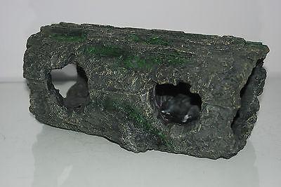 Detailed Large Aquarium Cichlid Hollow Root Log Decoration 28 x 14 x 13 cms 4