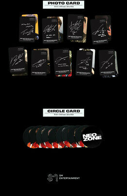 NCT 127 NEO ZONE 2nd Album T Ver CD+Photo Book+3Card+7Sticker+Poster+GIFT SEALED 12