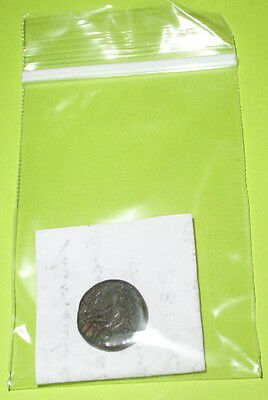 GREEK COIN of ANTIOCHUS I SOTER 281 BC-261 BC Apollo arrow bow omphalos Seleucid 4