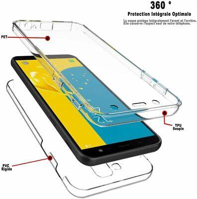 ETUI COQUE SILICONE 360 Intégral transparent Huawei P10 Llite / P20 / P30 PRO