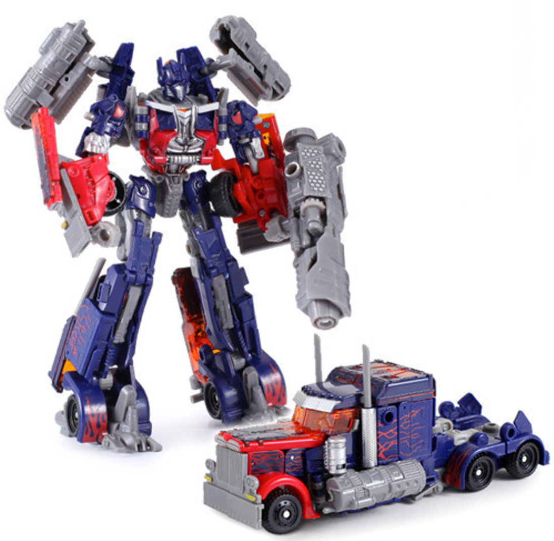TRANSFORMERS ACTION Figures Kids Toys Optimus Prime ...