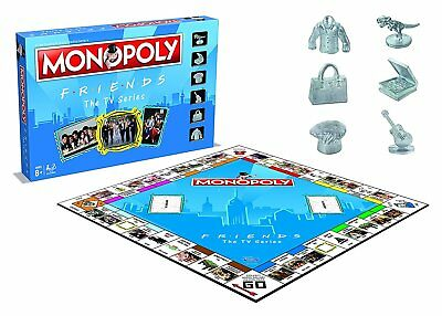Monopoly Friends The Tv Series Board Game Brand New Gift 2