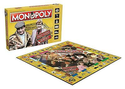 Only Fools and Horses Monopoly Game with Silver Token Pieces FREE POSTAGE 2
