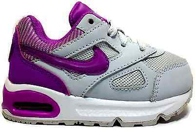 san francisco 8a7f0 0fe75 ... Nike Air Max Ivo (Td) 580372 055 Scarpe Bambina Sneakers Grigio/Fuxia  Ginnastica