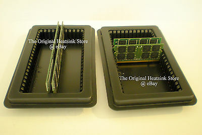 Qty 5 Fits 50 Memory Tray Case for Server DDR SDRAM FBDIMM RDIMM DIMM Modules