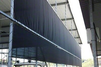 Black Mesh Tarp Screen Shade Fence Privacy Hauling Free Shipping Choose Size