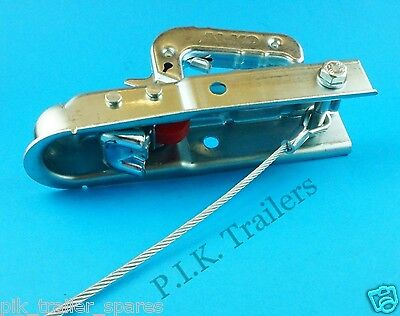 Trailer Safety Breakaway Secondary Coupling Cable for UNBRAKED TRAILERS 5