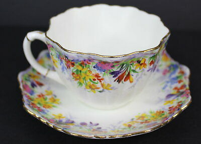 Paragon Daisy Vintage Bone China Tea Cup and Saucer Floral Flowers England 4