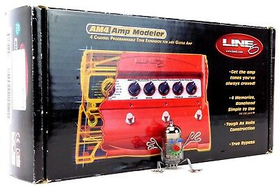 Line 6 AM4 Amp Modeler 4Channel Tone Expansion For Any Guitar Amp OVP + Garantie 11
