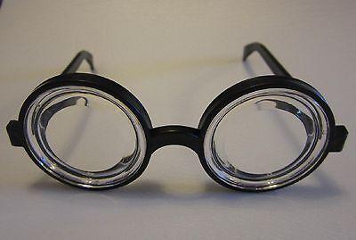 983352bf92 ... 4 Pair Kids Black Nerd Glasses Thick Lens Geek Shades Costume Coke  Bottle Frames 2