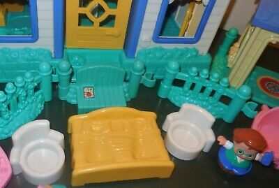Fisher Price Little People Sweet Sound Dollhouse Cradle Family House Home Lot 3