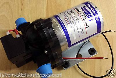 SHURFLO 24 VOLT - 10 6 l/min - 30psi - Coach / Truck / Horsebox Water Pump  24v