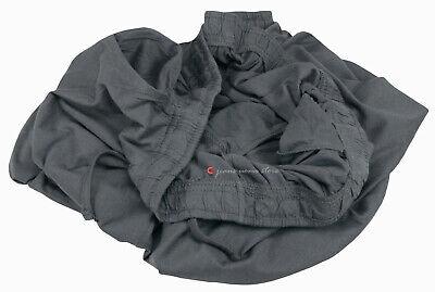 Pantalone tuta uomo FELPA cotone leggero estivo elastico TAGLIE FORTI 4 colori 6