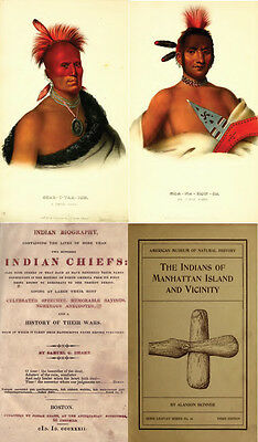 250 Old Books On Native American Indians, History, Culture, Chiefs, Wars & More 11