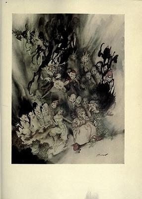 41 Vintage Arthur Rackham Illustrated Childrens Books - Dvd! Fairy Tales Fantasy 8