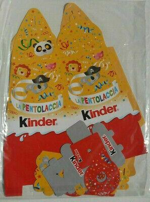 Pah Kinder Ferrero La Pentolaccia  Il Martello Carnevale 2020 Nutella Nuova 3