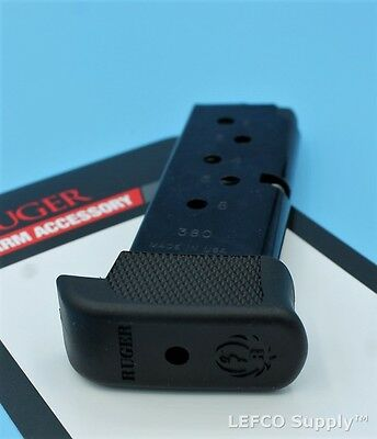Ruger LCP Extended Magazine 7-Round RD 380 Genuine OEM Mag Clip 90405 NEW