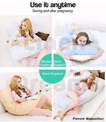 Aus Made Maternity Pillow Pregnancy Nursing Sleeping Body Support Feeding 5