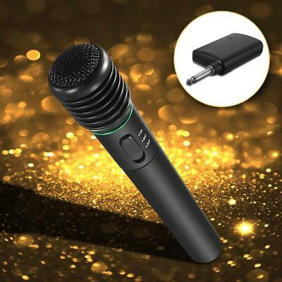 2in1 Pro Microphone Wireless Wired Handheld Cordless Mic For Karaoke Singing AU 2