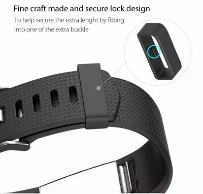 Fitbit Charge 2 Band Various Silicone Band Replacement Wristband Watch Strap New 8