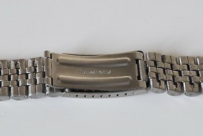 CHOOSE 18mm 20mm OR 22mm JUBILEE LINK WATCH BRACELET. STRAIGHT ENDS.GOOD QUALITY 4
