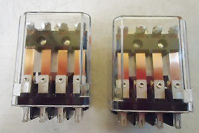 2 Tyco Electronics Kup-17D19-24 24Vdc Relays 2
