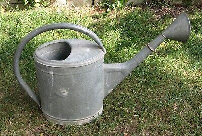 Gießkanne Giesskanne Gärtnerkanne (Blech verzinkt ; ca. 9-10 Liter) Watering Can 5