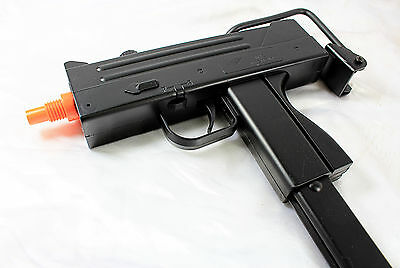 MAC 10 UZI Airsoft Gun + Magazine & Folding Metal Stock - M42F pistol/rifle  NEW