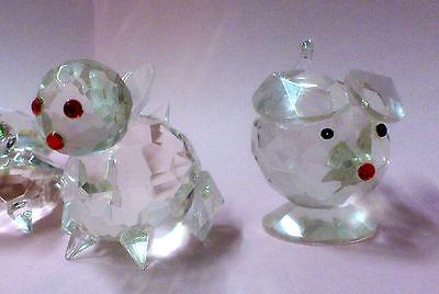 Set of 5 Crystal Glass Animals 7