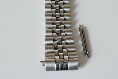 CHOOSE 18mm 20mm OR 22mm JUBILEE LINK WATCH BRACELET. STRAIGHT ENDS.GOOD QUALITY 3