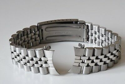 18mm 20mm OR 22mm FOR JUBILEE LINK STYLE CURVED END ENDS WATCH BRACELET QUALITY 3