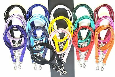Police Style Dog Training Lead Double Ended Obedience Leash Multi-Functional 2