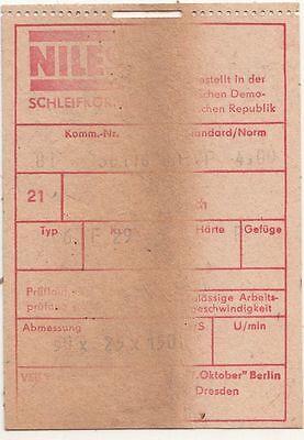 Alter DDR Schleifstein grober Wasserstein ? Wetzstein Abziehstein !