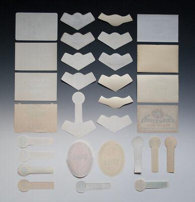 30 x verschiedene Etiketten WICKÜLER BIER + ANDERE um 1955-1968 8