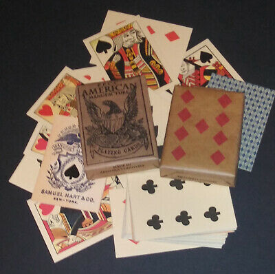 Faro Playing Cards of the Old West & Civil War Faro - Pharo - Poker 4