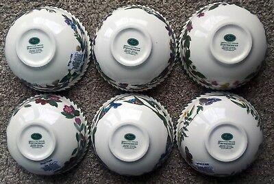 "PORTMEIRION BOTANIC GARDEN FRUIT SALAD BOWLS 5.5"" (14 cm) NEW 2"