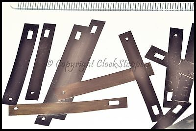 25 x Clock Suspension Feathers Steel Springs Servicing Repair Parts Replacement 2