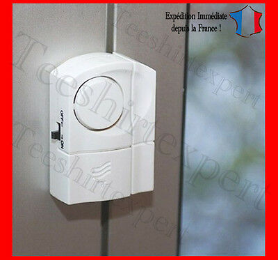 Alarme Magnétique Sans Fil Détecteur Douverture Fenêtre Porte