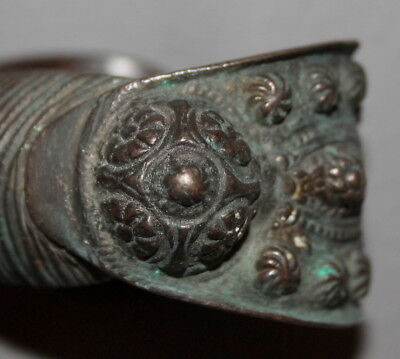 Antique Greek Folk Crusader Bronze Fertility Bracelet