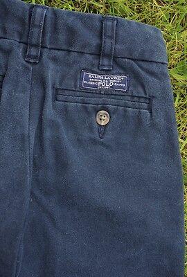 Polo Ralph Lauren Navy Boys Chino Jeans Elastic Adjustable Waist Age 18 Months 4